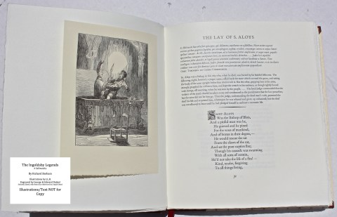 The Ingoldsby Legends, Barbarian Press, Sample Illustration #1 with Text