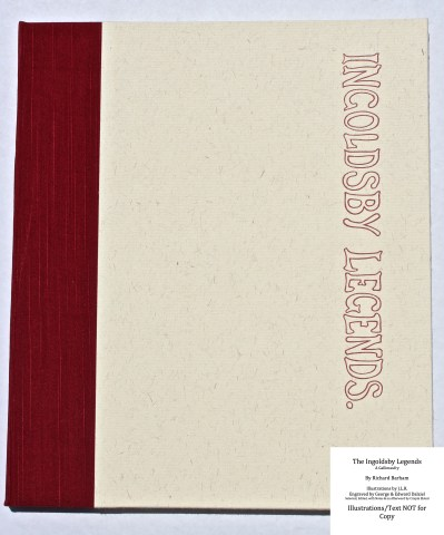 The Ingoldsby Legends, Barbarian Press, Portfolio of Prints