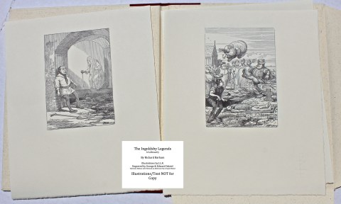 The Ingoldsby Legends, Barbarian Press, Sample Illustrations #3 from Portfolio