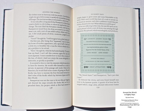 Around the World in Eighty Days, Limited Editions Club, Sample Text #4