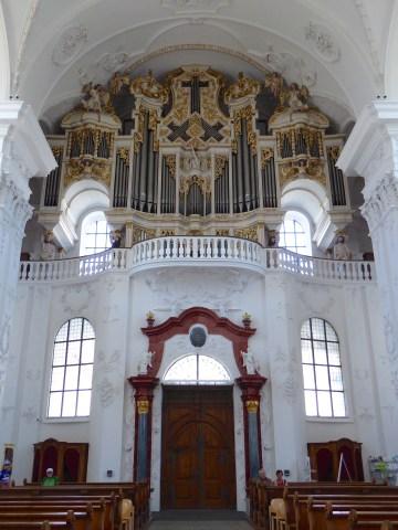 Photo 18: the organ at Abbey of St. Urban