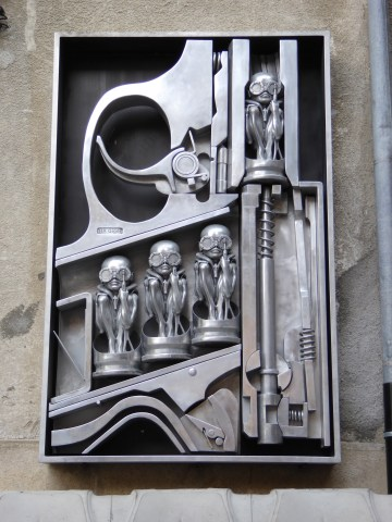 Photo 43: H.R. Giger museum in Gruyere