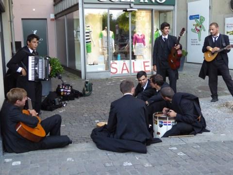 Photo 54: Classy street musicians in Zurich - #2