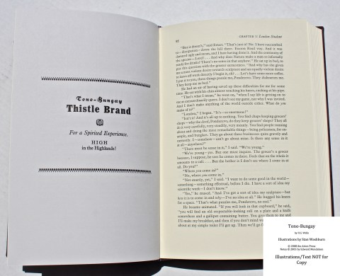 Tono-Bongay, Arion Press, Sample Advertisement #2 with Text