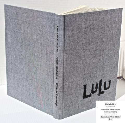 The Lulu Plays, Arion Press, Spine and Covers