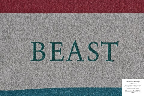 The Beast in the Jungle, Allen Press, Macro of Front Cover