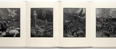 Outside, Nawakum Press, Illustration Samples