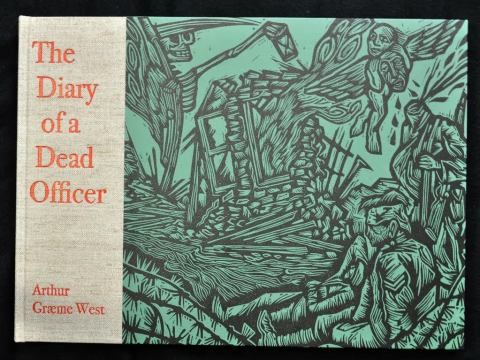 The Diary of a Dead Officer, Old Stile Press, Cover