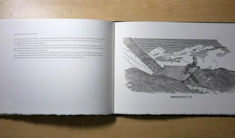 An Ocean Between Us, The Prototype Press, Cover