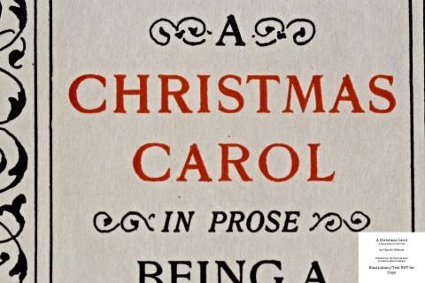 A Christmas Carol, The Roycroft Shop, Macro of Title Page