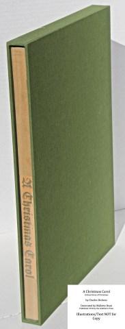 A Christmas Carol, Grabhorn Press, Book in Slipcase