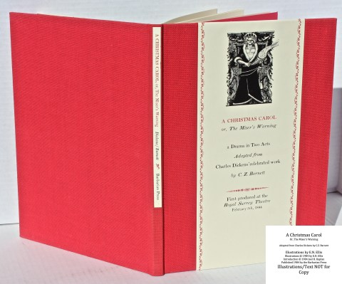 A Christmas Carol, Barbarian Press, Spine and Covers