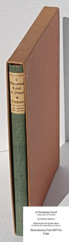A Christmas Carol, Limited Editions Club, Book in Slipcase
