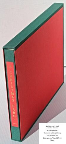 A Christmas Carol, Arion Press, Book in Slipcase