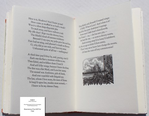 Fancy: 8 Odes of John Keats, Barbarian Press, Sample Text #9 (Ode on Indolence)