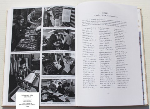 Bibliography of the Arion Press, Arion Press, Sample Photographs #4