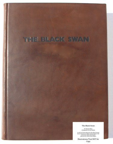 The Black Swan, Limited Editions Club, Cover