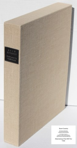Snow Country, Limited Editions Club, Slipcase Spine (custom)