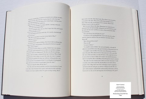 Snow Country, Limited Editions Club, Sample Text #4