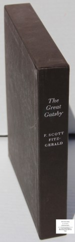 The Great Gatsby, Limited Editions Club, Slipcase Spine