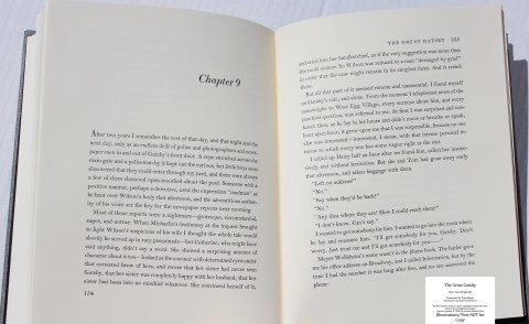 The Great Gatsby, Limited Editions Club, Sample Text #5