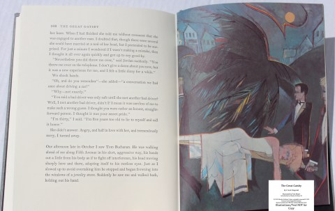 The Great Gatsby, Limited Editions Club, Sample Illustration #6 with Text