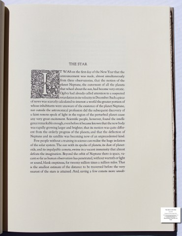 The Door in the Wall, The Folio Society, Sample Text #3
