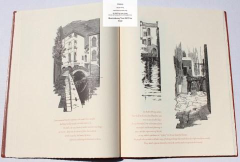 Venice, Whittington Press, Sample Illustrations #5 with Text