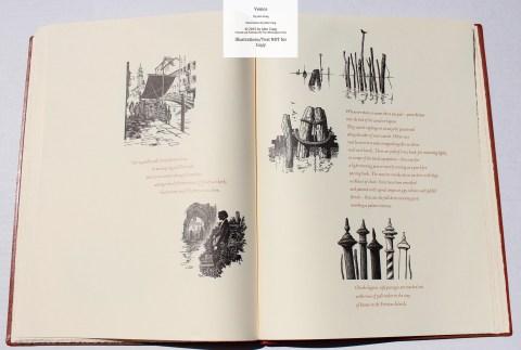 Venice, Whittington Press, Sample Illustrations #10 with Text