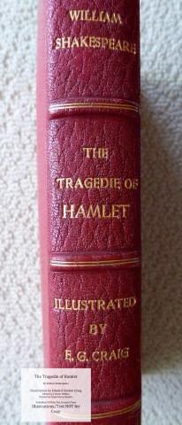 Hamlet, Cranach Press, Spine