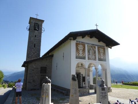 The shrine of Ghisallo