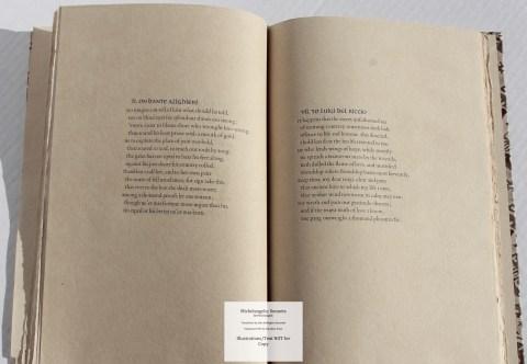 Michelangelo: Sonnets, Allen Press, Sample Text #2
