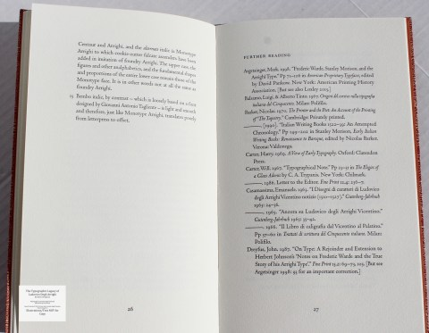 The Typographic Legacy of Ludovico degli Arrighi, Peter Koch Printers, Sample Text #4