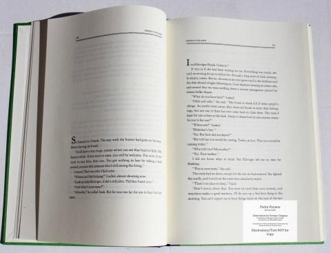 Pedro Paramo, Arion Press, Sample Text #3