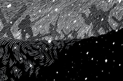 Winter, The Salvage Press, illustrator David Rooney