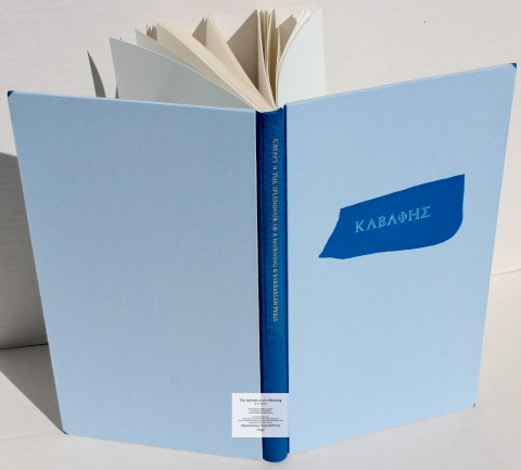 The Splendour of a Morning, Barbarian Press, Cover and Spine (Deluxe)