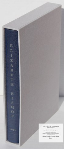 The Little of our Earthly Trust, Arion Press, Book in Slipcase