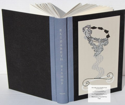 The Little of our Earthly Trust, Arion Press, Covers and Spine