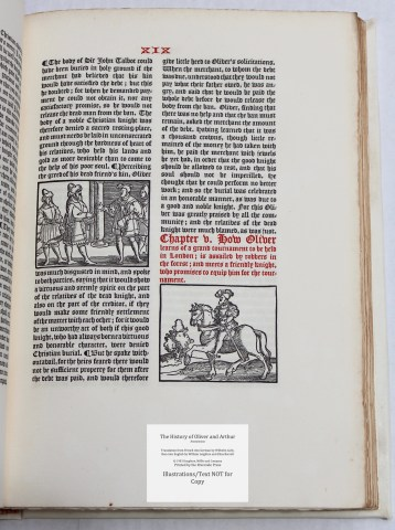 The History of Oliver and Arthur, Riverside Press, Sample Illustration #4 with Text