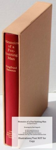 Memoirs of a Fox-hunting Man, Limited Editions Club, Book in Slipcase