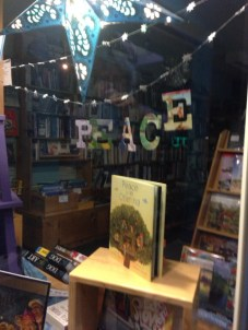 Peace Display | The Homer Bookstore, Homer, AK