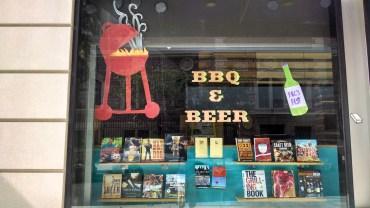 BBQ & Beer   Penn Book Center, Philadelphia, PA