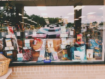Dottie Frank display | The Booksmith, Seneca, SC
