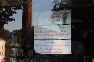 P.T. Barnum Display | Byrd's Books, Bethel, CT