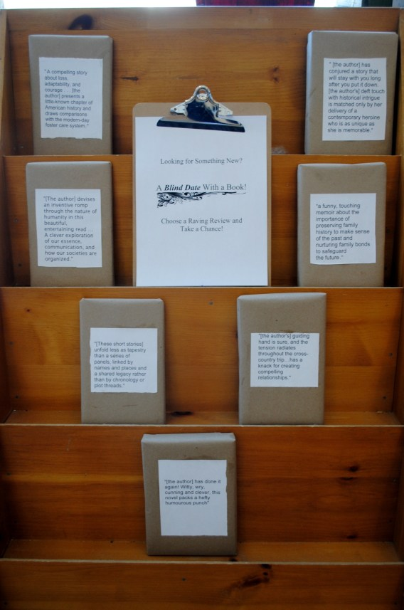 Blind Date with a Book | Blue Heron Books in Uxbridge, Ontario, Canada