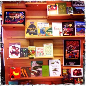 Farmer's Market Display - The Homer Bookstore
