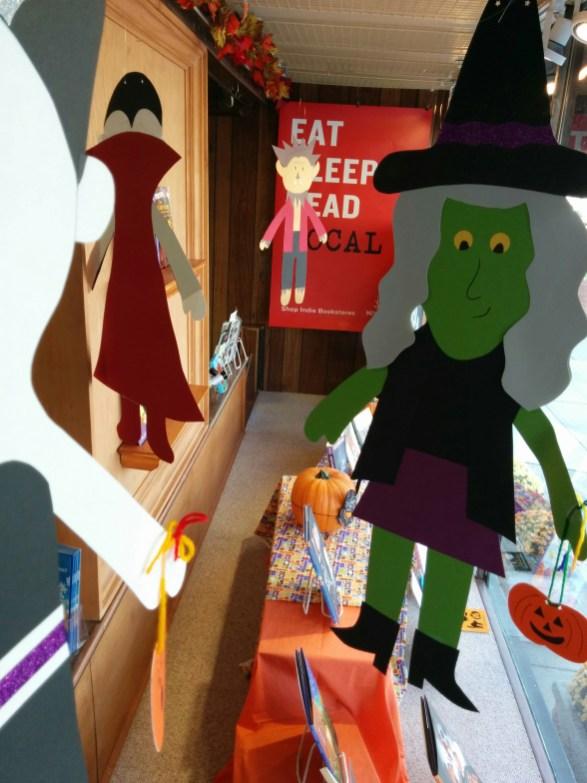 Halloween Display | Just the Bookstore, Glen Ellyn, IL
