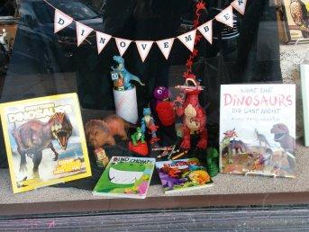 Dinovember | Just the Bookstore, Glen Ellyn, IL