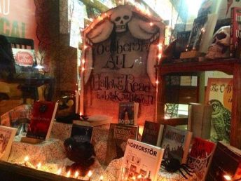 All Hallows Read Display | Water Street Bookstore, Exeter, NH
