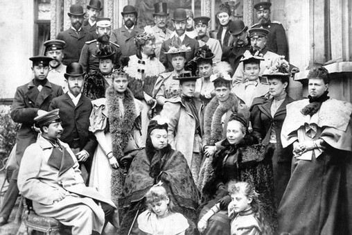 queen victoria children and grand children